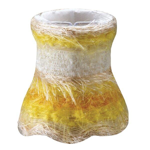 5 H Silk/Shantung Novelty Candelabra Shade ( Clip On )