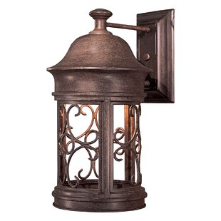 Sage Ridge 1-Light Outdoor Wall Lantern By Great Outdoors by Minka Outdoor Lighting