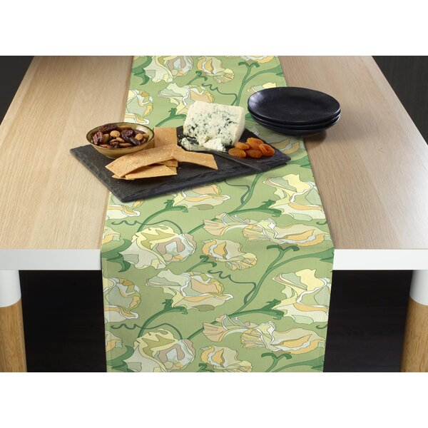 Marisa Abstract Table Runner by Red Barrel Studio