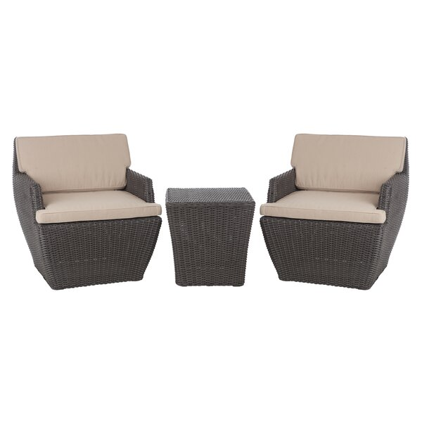 Bel Cubo 3 Piece Bistro Set by PatioSense