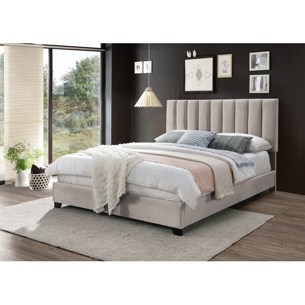 Cottman Upholstered Bed by House of Hampton