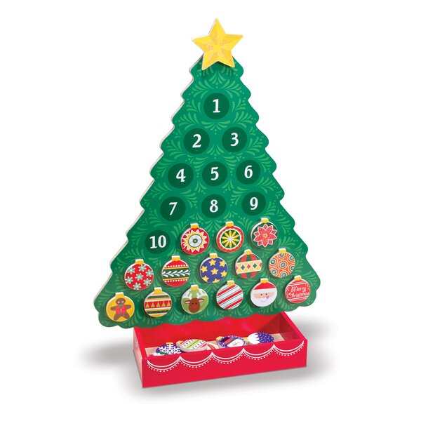 Countdown to Christmas Wooden Advent Calendar by Melissa & Doug