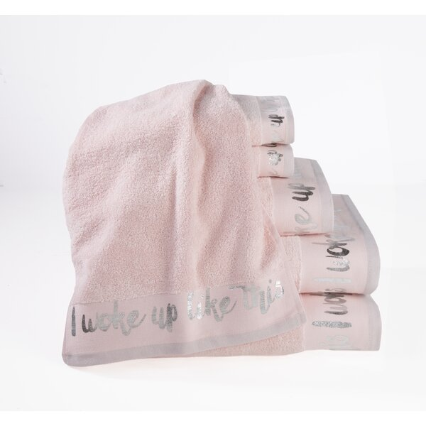 6 Piece Cotton Towel Set by CosmoLiving by Cosmopolitan