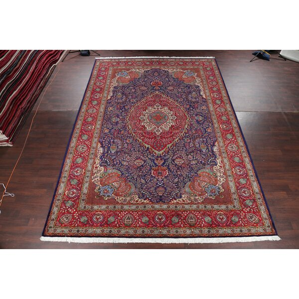 One-of-a-Kind Longmeadow Hand-Knotted Red 11'5 x 16'3 Wool Area Rug