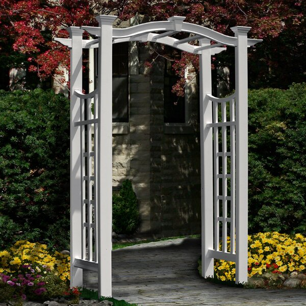 Florence Vinyl Arbor by New England Arbors