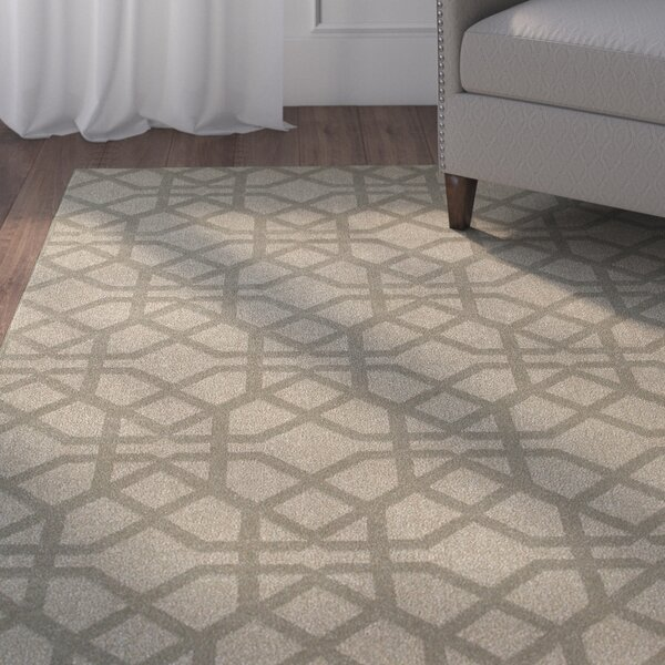 Derby Gray/Beige Area Rug by Charlton Home