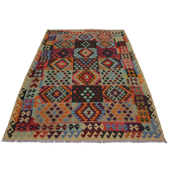 One-of-a-Kind Kensley Handmade Kilim 6' x 7'11