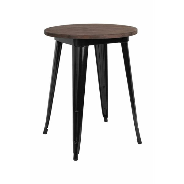 Jacalyn Solid Wood Bistro Table By Williston Forge by Williston Forge 2020 Sale