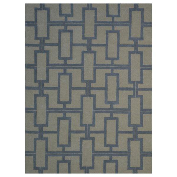 Wool Hand-Tufted Beige/Gray Area Rug by Eastern Weavers
