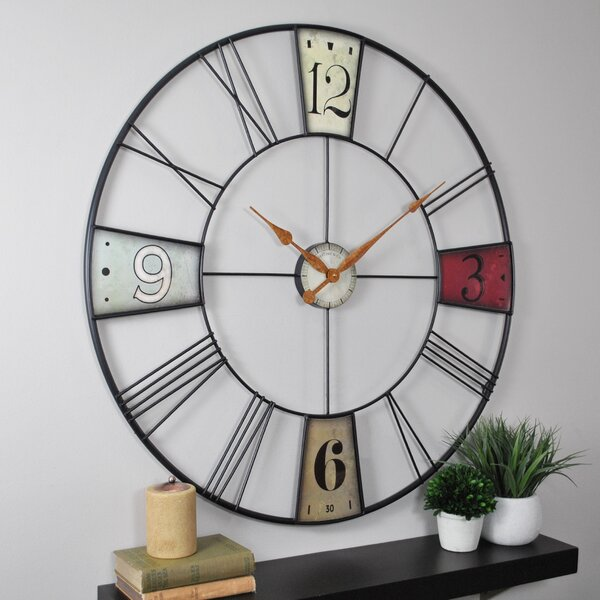 Oversized Derby 36 Wall Clock by Trent Austin Design