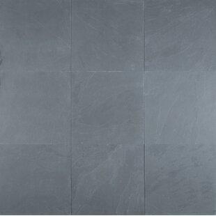Montauk 12 X Slate Field Tile In Textured Blue