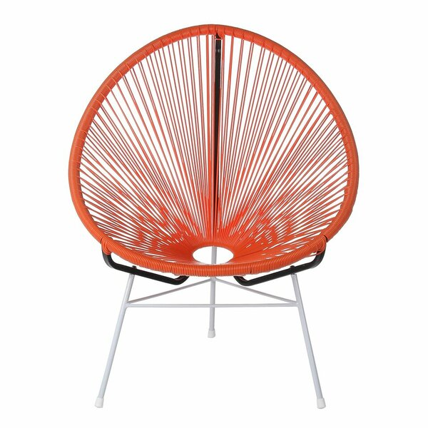 Lessard Acapulco Woven Basket Patio Chair by Ivy Bronx