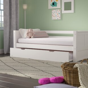 Price comparison Oakwood Twin Panel Bed with Trundle ByMack & Milo
