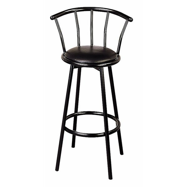 Harden Distressed Metal 30 Bar Stool (Set of 2) by Winston PorterHarden Distressed Metal 30 Bar Stool (Set of 2) by Winston Porter