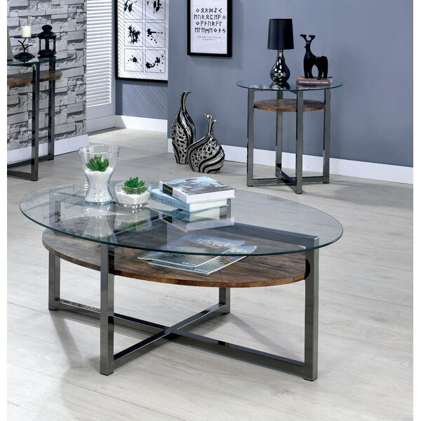 Dex 2 Piece Coffee Table Set by 17 Stories