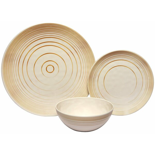 Rohan Nature 36 Piece Dinnerware Set, Service for 12 by Darby Home Co