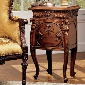 Falconcrest End Table by Design Toscano