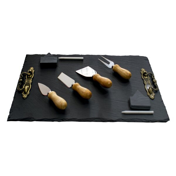 Mancuso Chefs Basics Select 22 Piece Cheese Board and Platter Set by Gracie Oaks