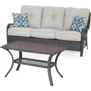 Innsbrook 2-Piece Sofa Set with Cushions by Alcott Hill