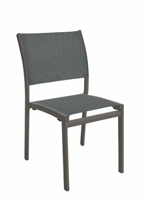 Sono Stacking Patio Dining Chair by Tropitone