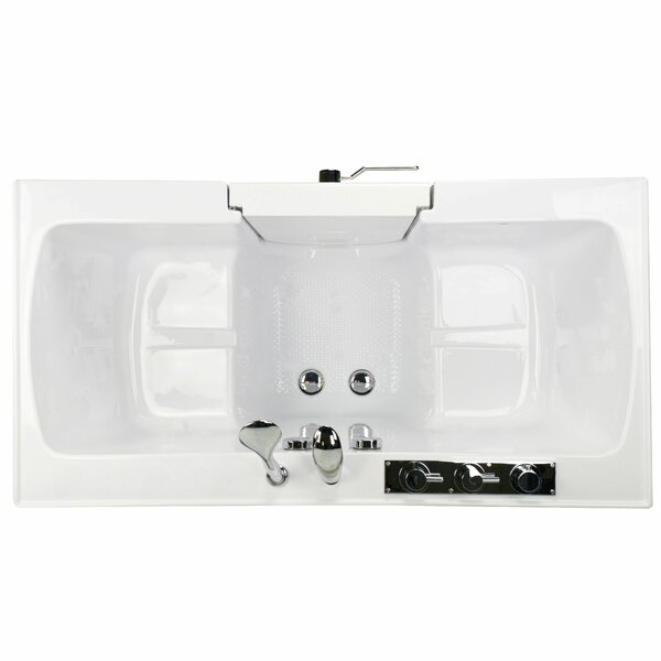 Tub4Two 60 x 30 Walk-in Combination Bathtub by Ella Walk In Baths