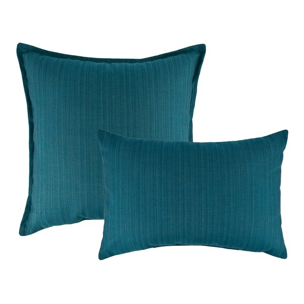 Dupione Combo Outdoor Sunbrella Pillows by Austin Horn Classics
