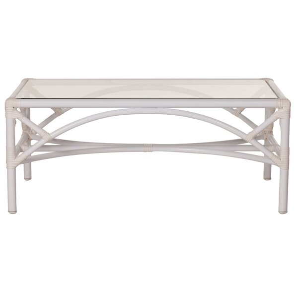 Chippendale Aluminum Coffee Table by David Francis Furniture