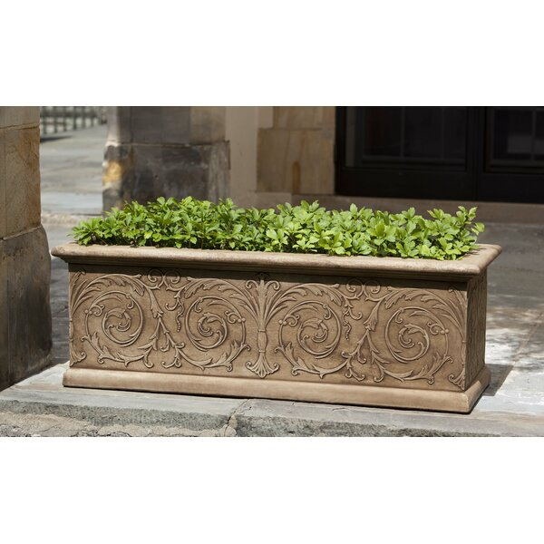 Vernetta Cast Stone Planter Box by Darby Home Co