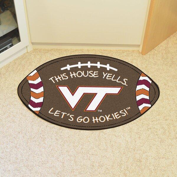 NCAA Virginia Tech Southern Football Doormat by FANMATS