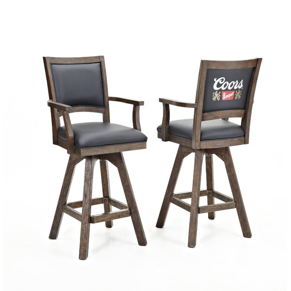 Coors Banquet 30 Swivel Bar Stool (Set of 2) by ECI Furniture