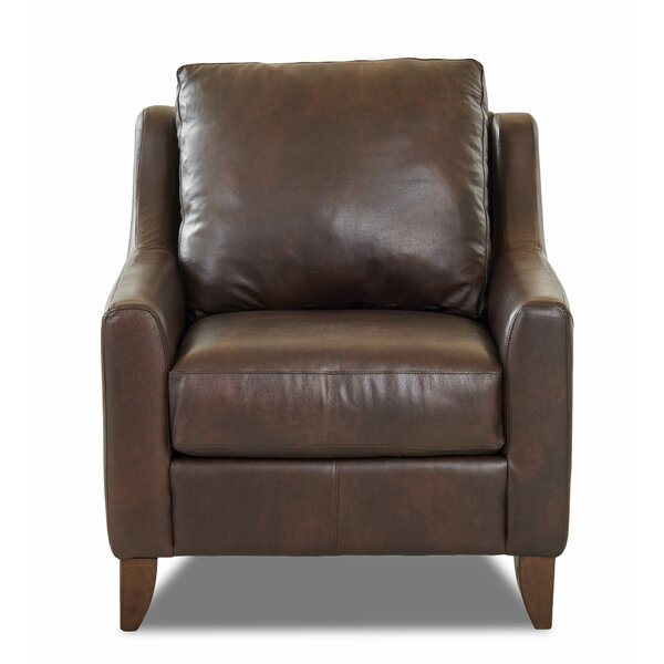 Haleigh Leather Armchair