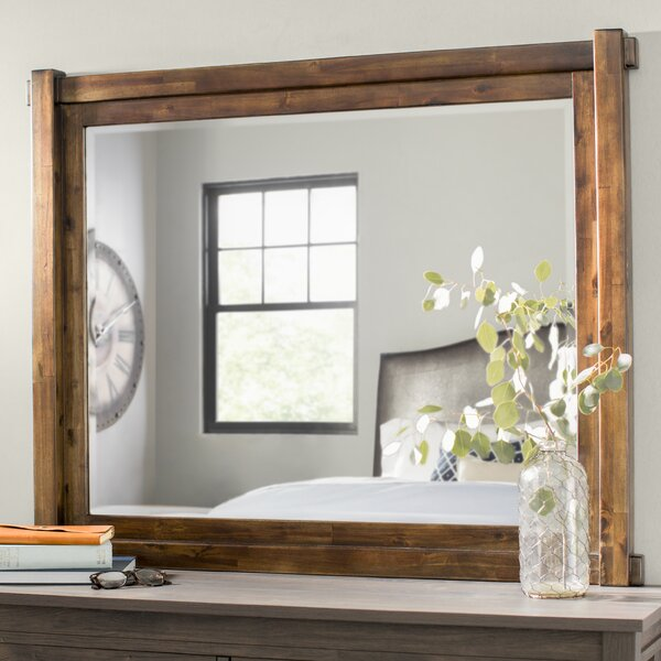Mattalyn Rectangular Dresser Mirror by Gracie Oaks
