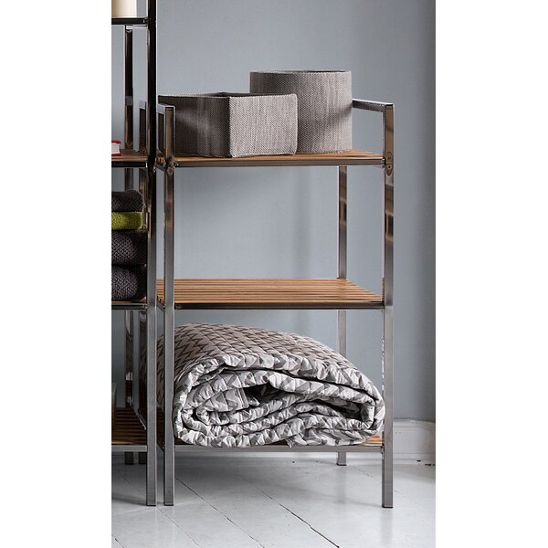Yukon 15 W x 37 H Bathroom Shelf by Home Loft Concepts