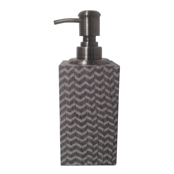Chevron Soap & Lotion Dispenser by Oggetti