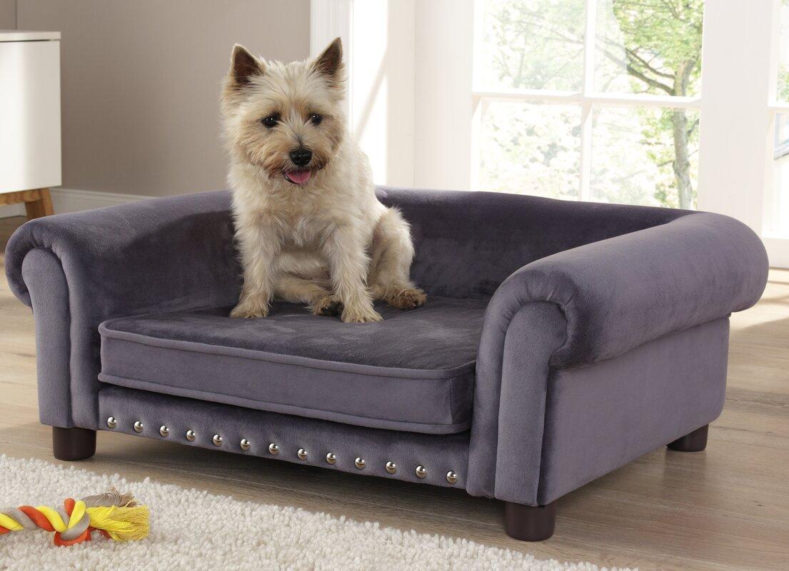 Dog Sofas Enchanted Home Pet Library Dog Sofa Reviews