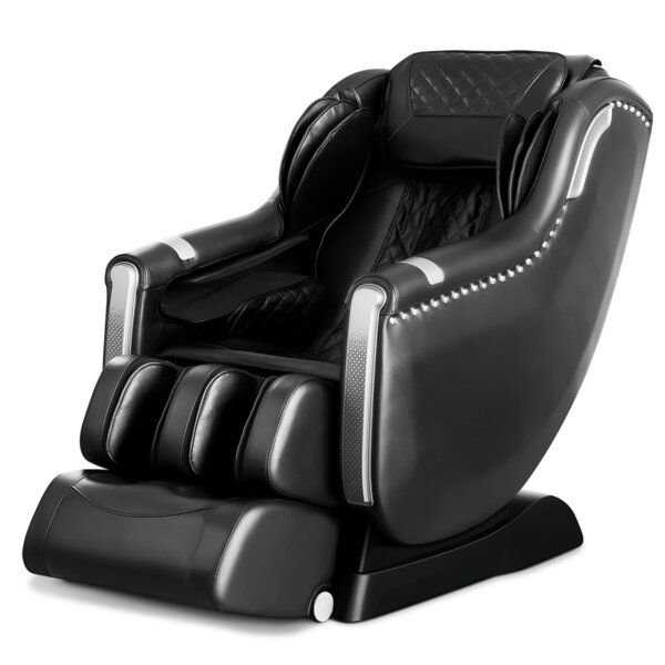 A900 Reclining Adjustable Width Heated Full Body Massage Chair By Latitude Run