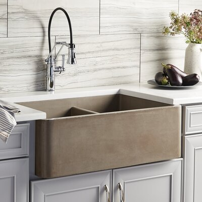 Kitchen Sink Double Basin Earth photo