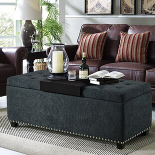 Yoakum Upholstered Storage Bench
