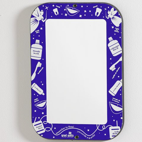 Smile Wall Mirror by Playscapes