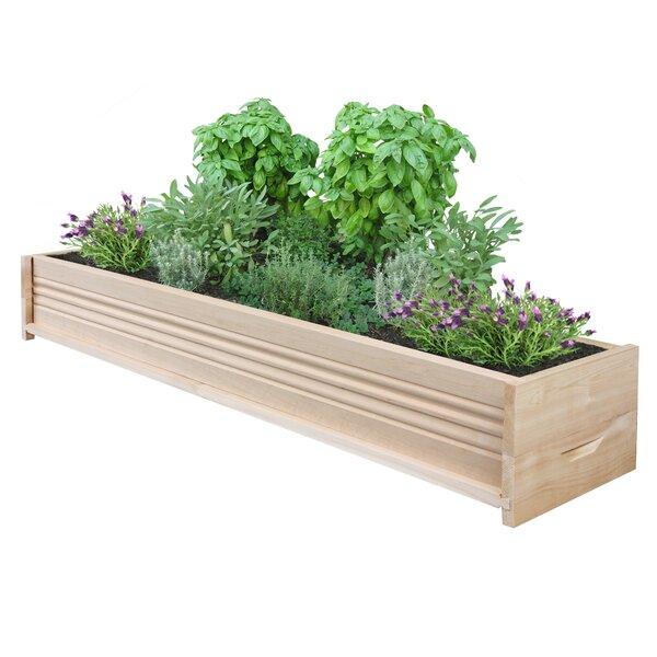 Cedar Planter Box by Greenes Fence