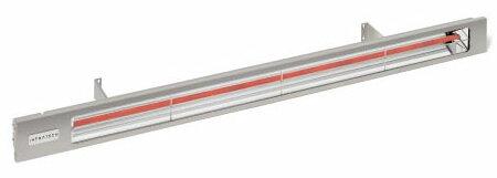 Slimline Quartz 3000 Watt Electric Mounted Patio Heater by Infratech