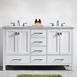 Newtown 60 Double Bathroom Vanity By Beachcrest Home