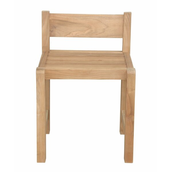 Sedona Teak Patio Dining Chair by Anderson Teak