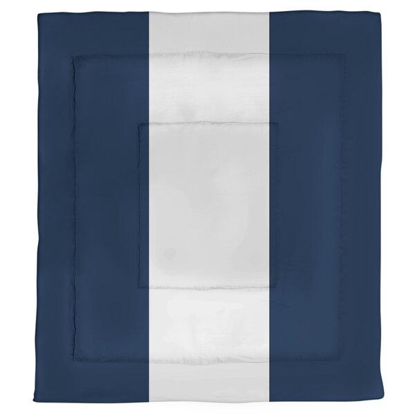College Stripes Pennsylvania Roar Microfiber Single Reversible Comforter