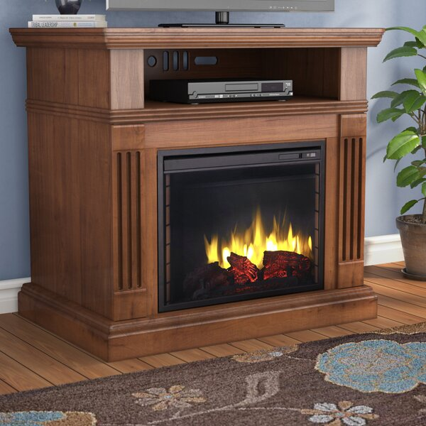 Simon 40 TV Stand with Fireplace by Darby Home Co