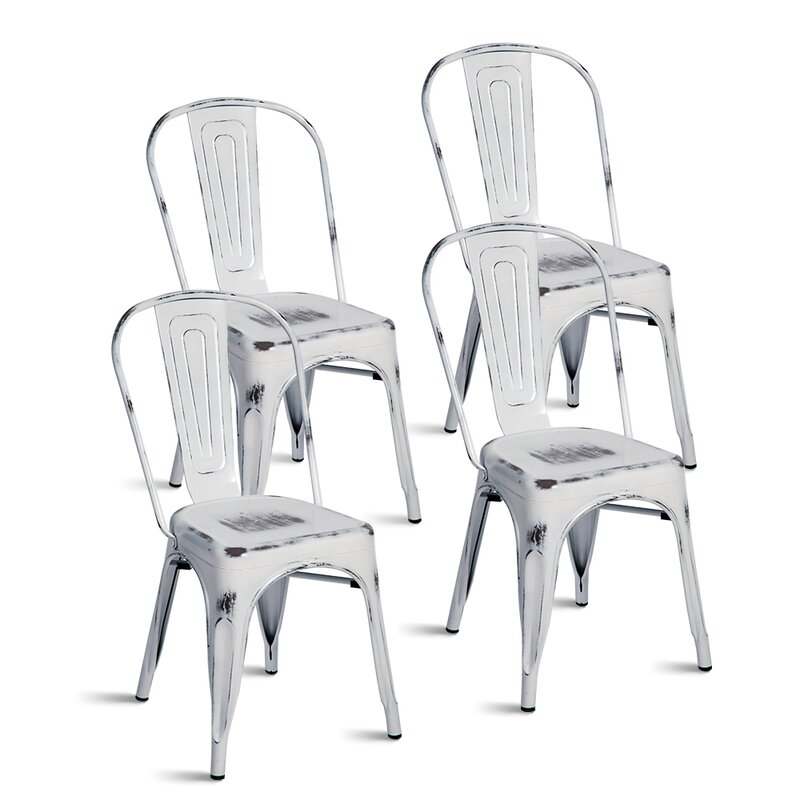 Javier Stackable Tolix Dining Chair