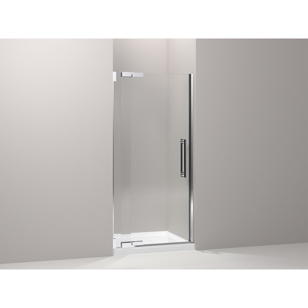 Purist 32.75 x 72.25 Pivot Shower Door with CleanCoat® Technology by Kohler