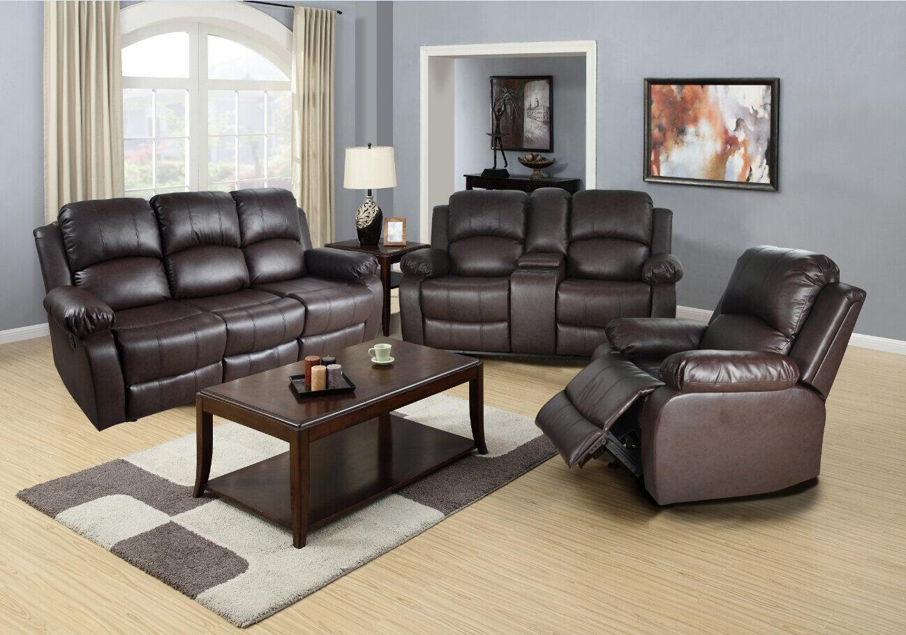 Red Barrel Studio Harton Reclining 3 Piece Living Room Set