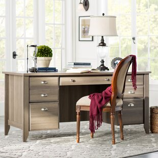 Compare & Buy Rupert Executive Desk By Three Posts