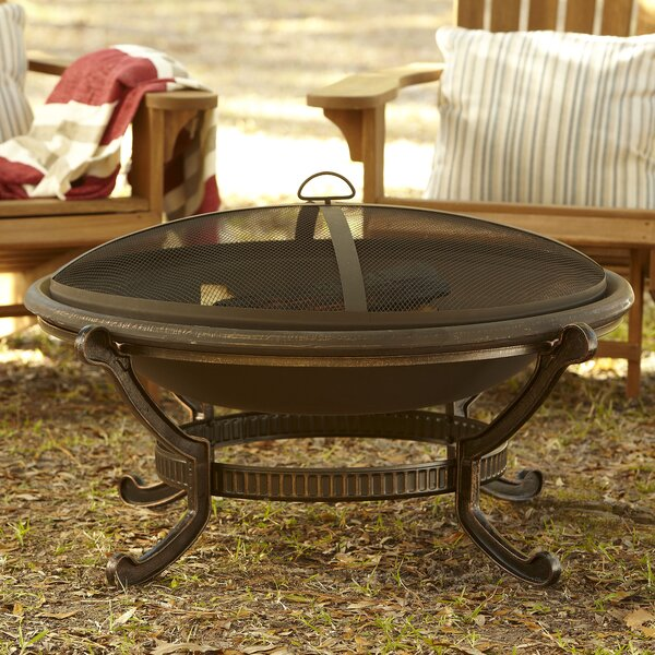 Ellison Cast Iron Wood Burning Fire Pit by Birch Lane™